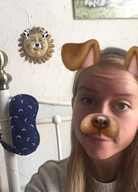 Me as a Snapchat dog